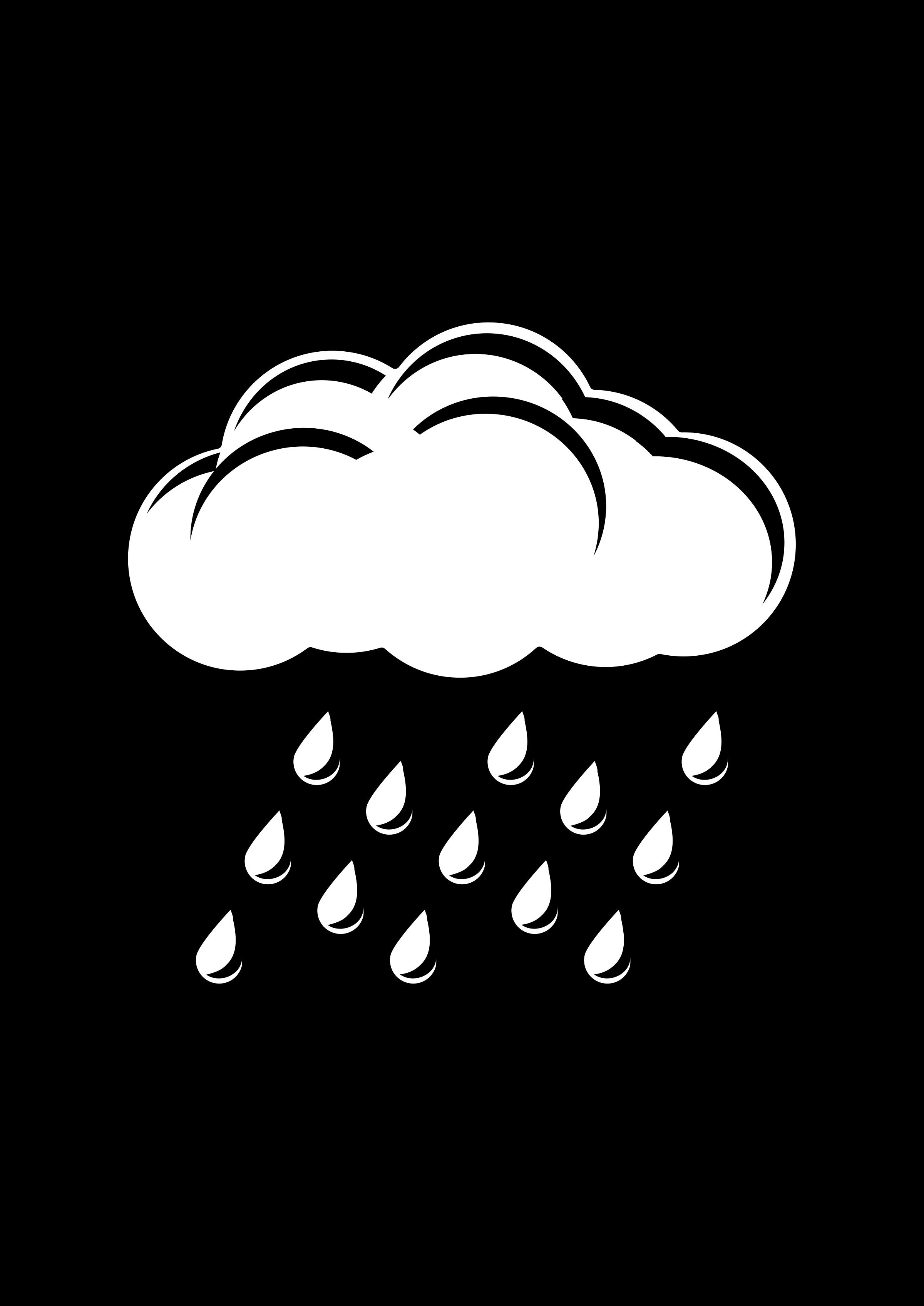 Drawn rain rain cloud 59 Rain clipart rain clipartoons