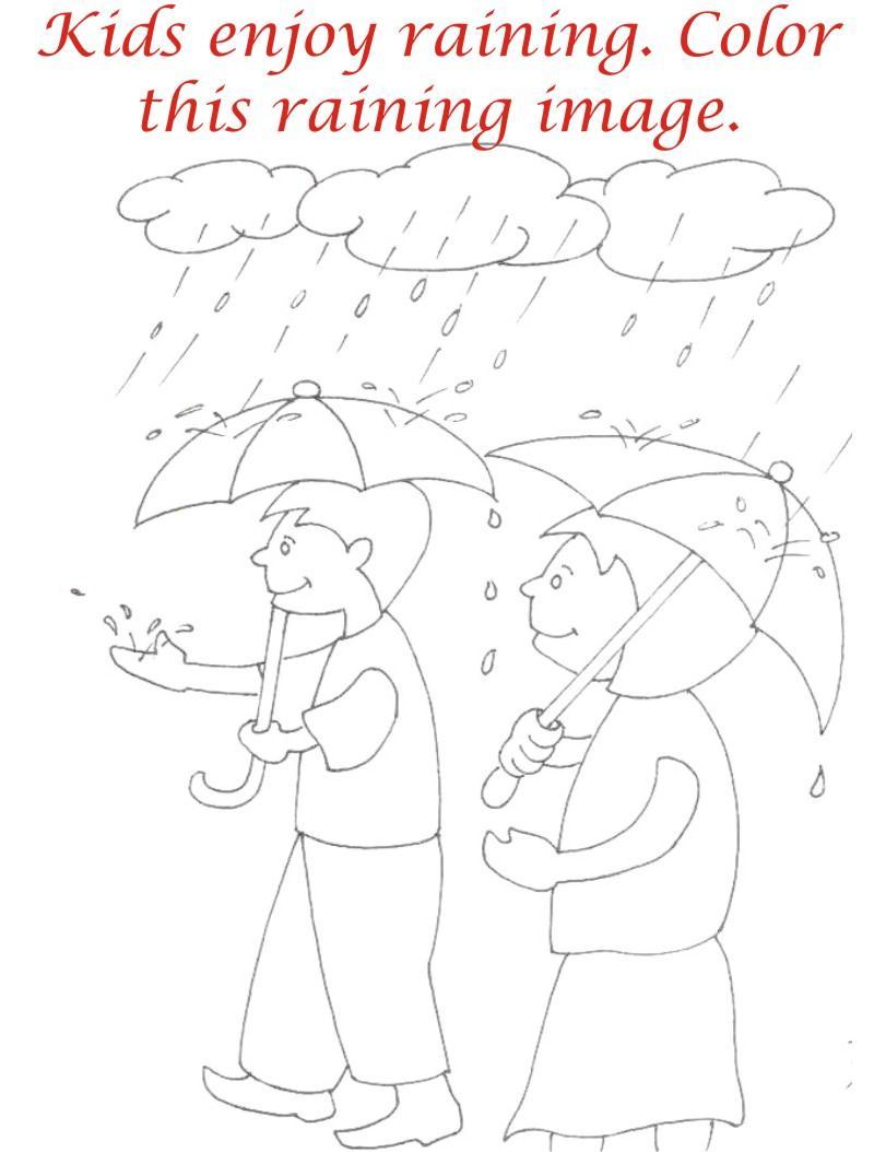 Drawn rain rainy season More travel For Drawing Season