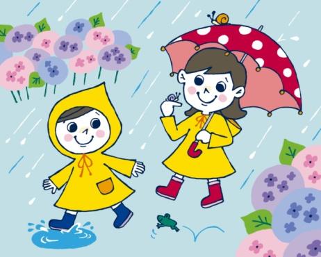 Drawn rain rainy season Rainy Cartoon Rainy Season Drawing