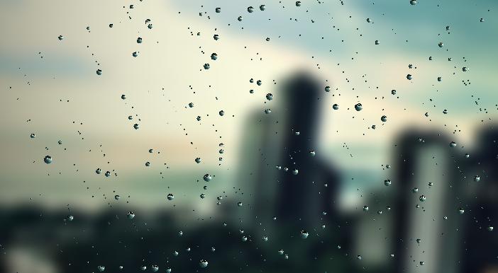 Drawn raindrops animated Canvas Realistic rainydaydemo1 Effect Rain