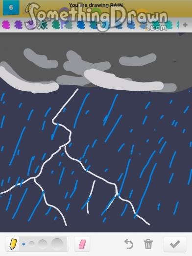 Drawn rain swing Pat Draw com Something rain