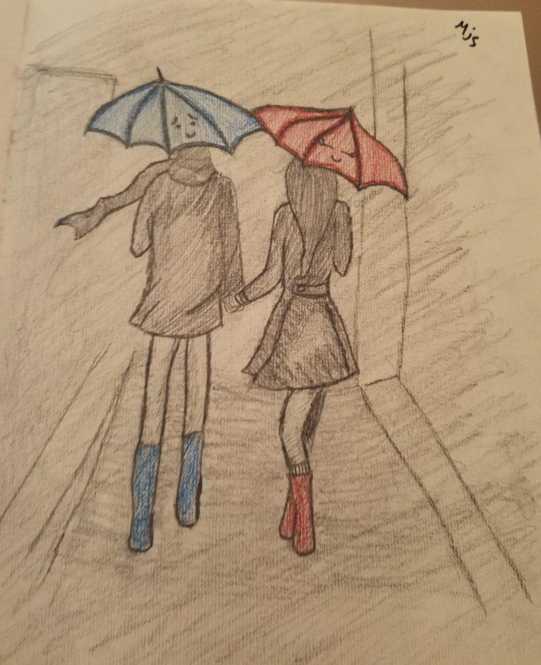 Drawn rain swing Samantha Mermaid Bell pencil this