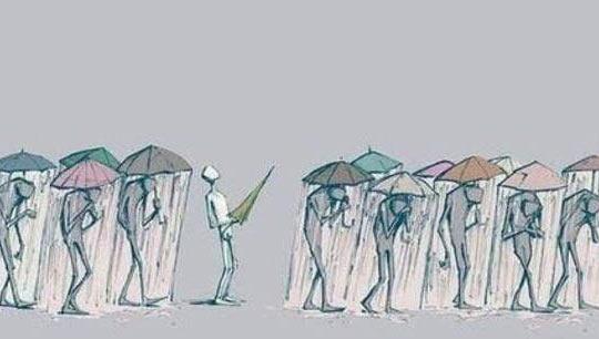 Drawn rain umbrella rain Umbrella We're The Picture drawing