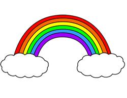 Drawn rainbow Lesson drawing Cartoon Step Drawing