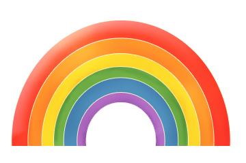 Drawn rainbow cartoon Rainbow tutorial rainbow a Creating
