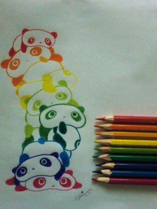Drawn rainbow colour Rainbow Best ideas on Pinterest