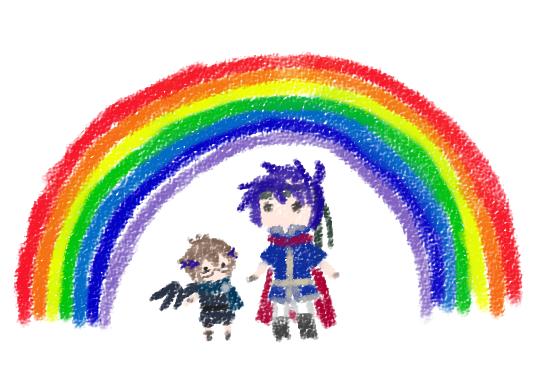 Drawn rainbow crayon By Crayon on Kuropitplz Crayon