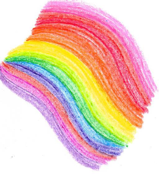 Drawn rainbow crayon ISHOULDBEDRAWING Crayon by rainbow rainbow