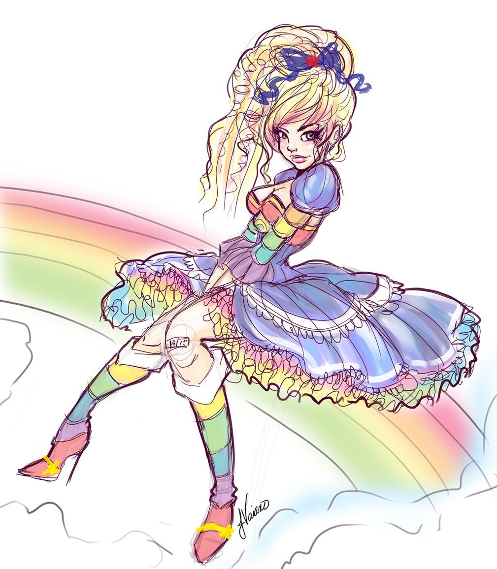 Drawn rainbow cute Com by by deviantart