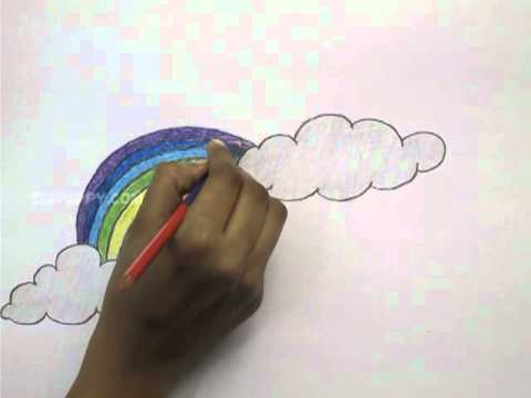 Drawn rainbow draw Draw Rainbow to Draw How