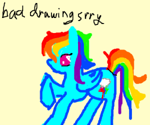 Drawn rainbow fun Dash Please Draw Dash Rainbow