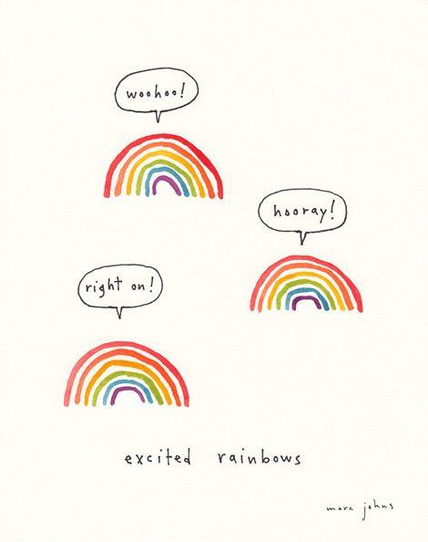 Drawn rainbow half 25+ ideas too Pinterest I'd