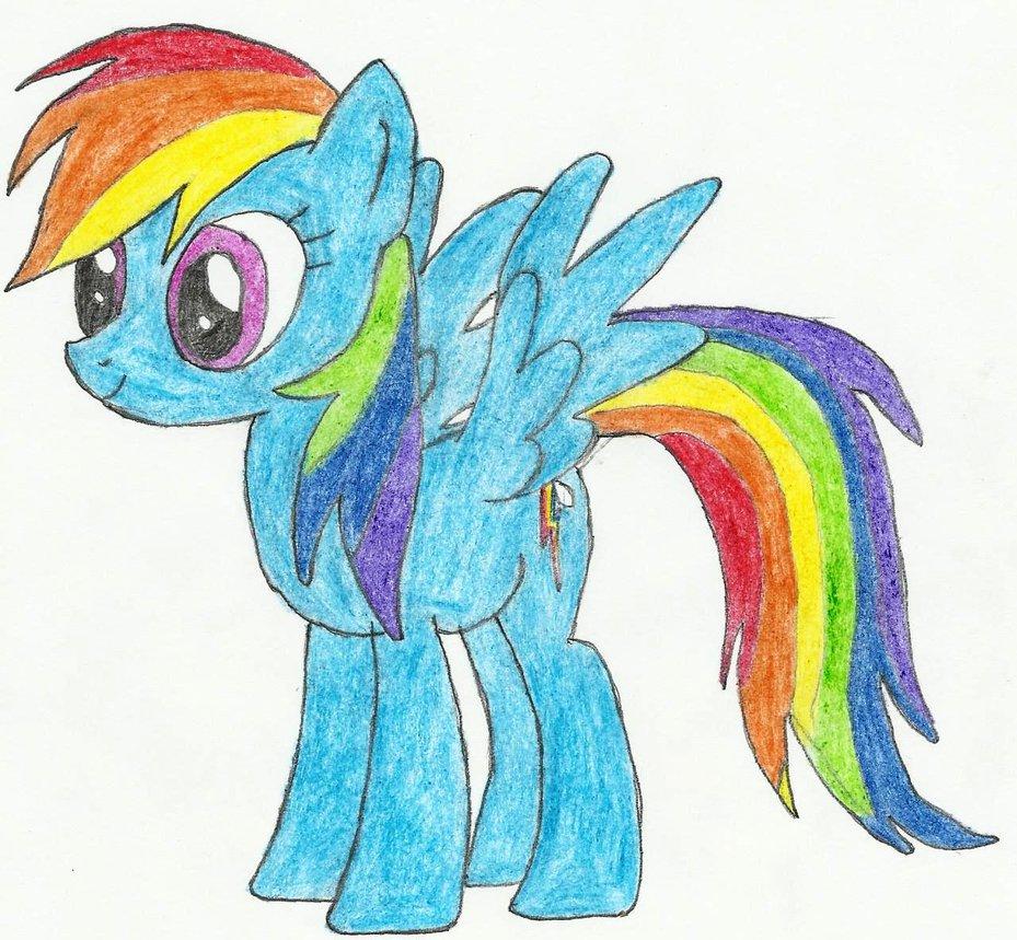 Drawn rainbow illustration Rainbow drawn by seanway715 Rainbow