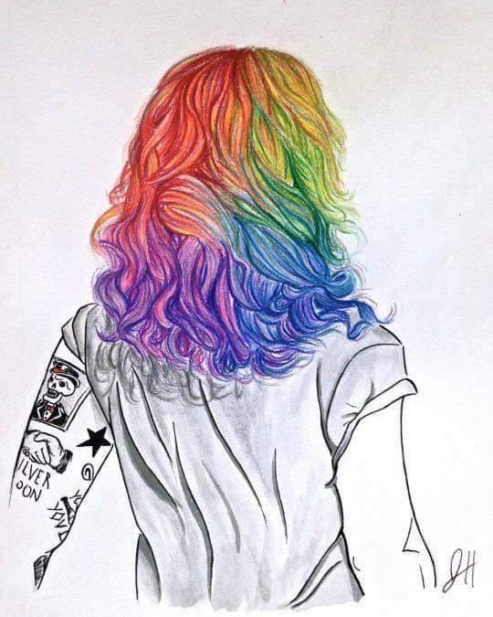 Drawn rainbow larry Lo Creditos Rainbow of a