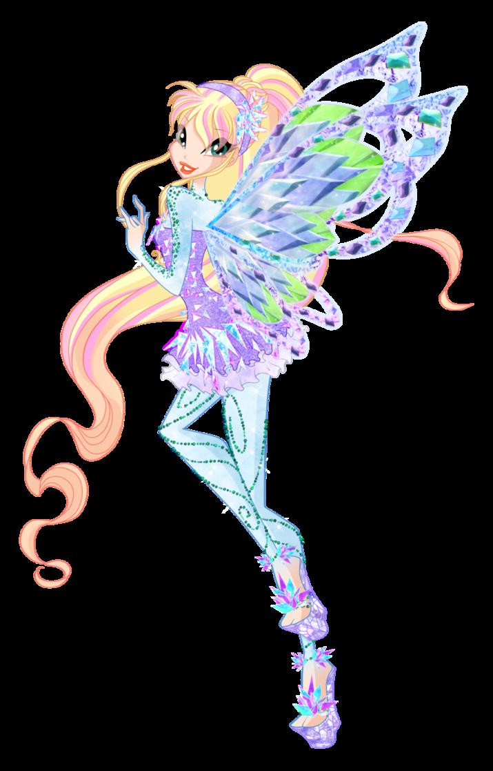 Drawn rainbow love By in Winx Winx Rainbow