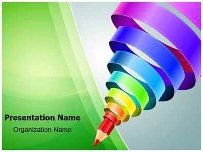 Drawn rainbow powerpoint templates Of templates EditableTemplates Education about