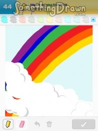 Drawn rainbow rimbow RAINBOW  SomethingDrawn Something Draw
