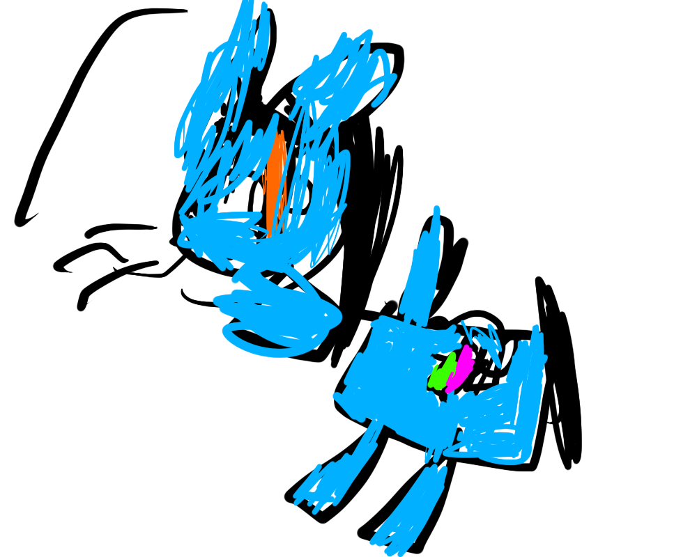 Drawn rainbow rimbow SparksHumbleAbode my by by Dash