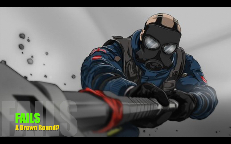 Drawn rainbow rimbow Siege: A + Mad