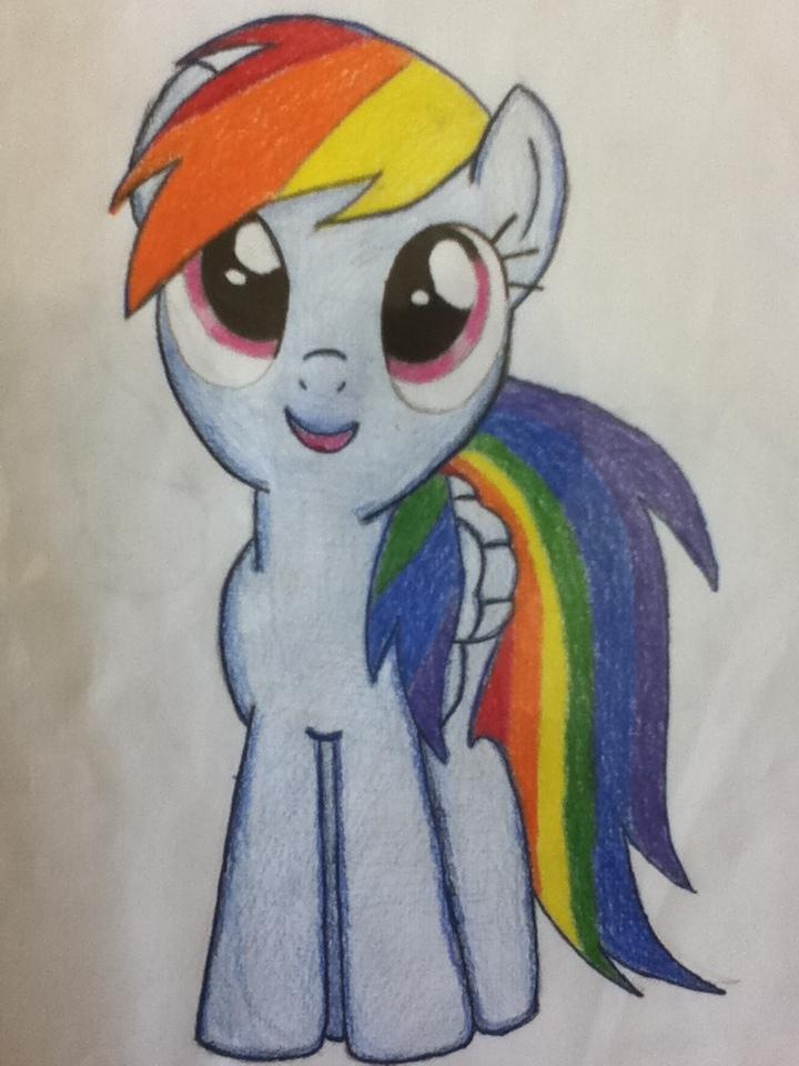 Drawn rainbow rimbow Drawing on Dash 13light 13light
