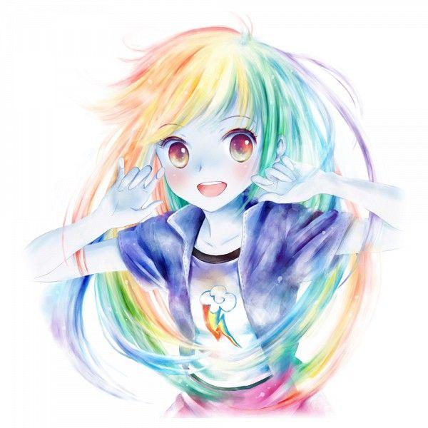 Drawn rainbow small Best dash  on Rainbow