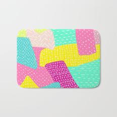 Drawn rainbow small Summer Colorblock Modern Mats Co…