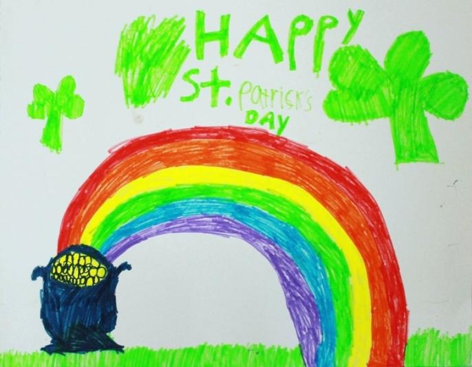 Drawn rainbow st patricks day 4 Ideas! Hunt (+ Patricks