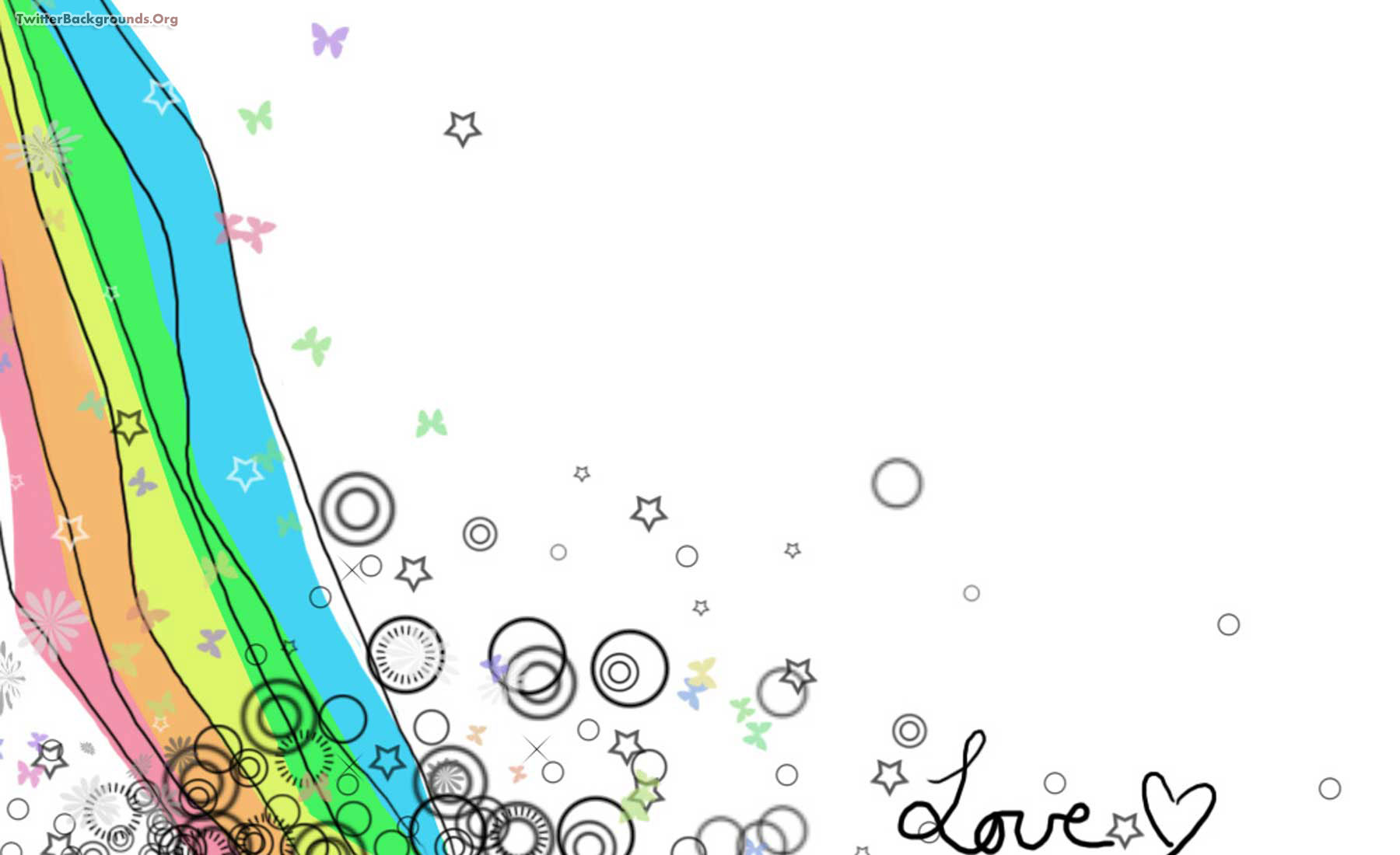 Drawn rainbow star For and Backgrounds  Powerpoint