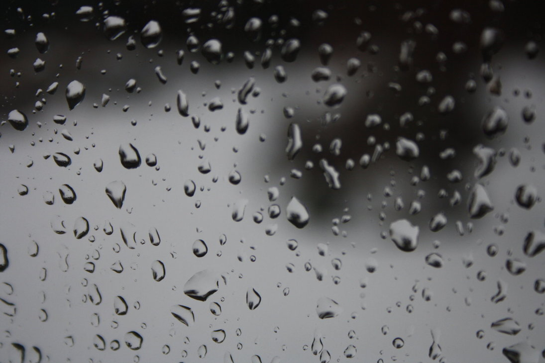 Drawn raindrops animated On a The song muted