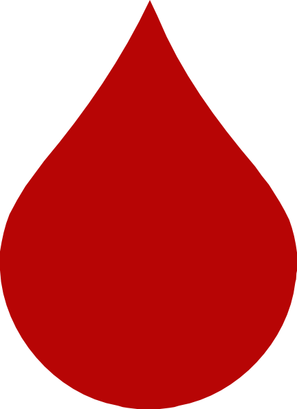 Drawn raindrops blood Vector Drop image Blood at