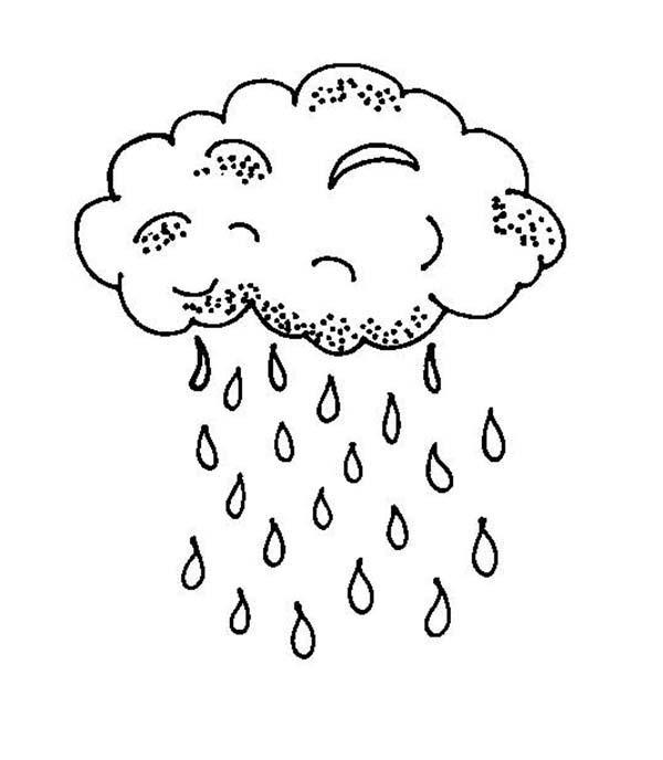 Drawn raindrops printable Raindrop Sheets Pages Coloring Coloring