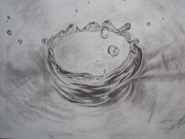 Drawn raindrops realistic DeviantArt by like by like