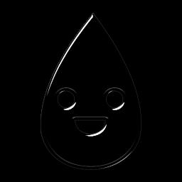 Drawn raindrops transparent 5 » Tags element #049063