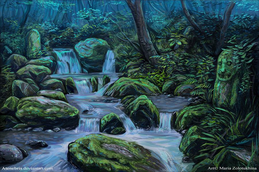 Drawn rainforest Rainforest DeviantArt Rainforest Atenebris Atenebris
