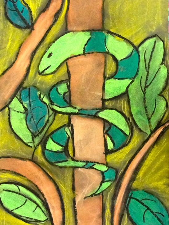 Drawn rainforest art ks2 Rainforest africa Google ks2