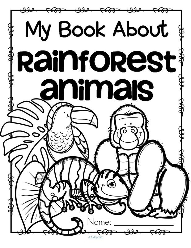 Drawn rainforest cartoon Pinterest theme activities and Kindergarten