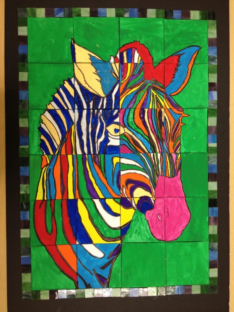 Drawn rainforest collage ks2 Jungle draw (zebra) very out