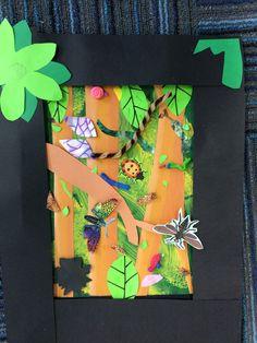 Drawn rainforest collage ks2 Rainforest Collage Homework Collage Example