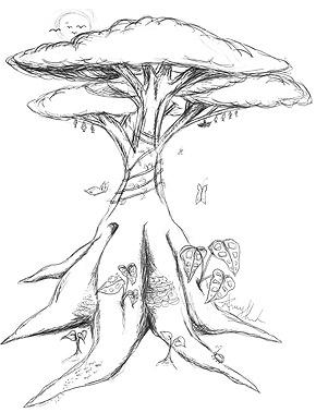 Drawn rainforest rainforest plant And photo#3 trees Rainforest Plants