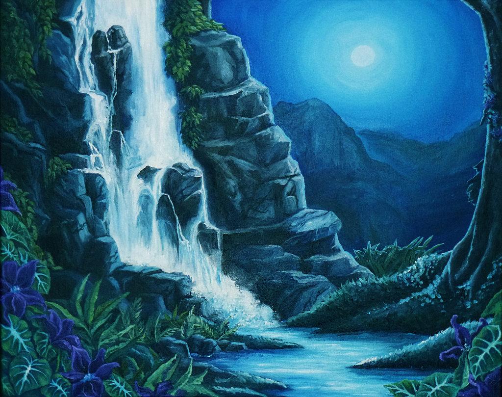 Drawn rainforest rainforest waterfall Rainforest life/health topic #8 dragon