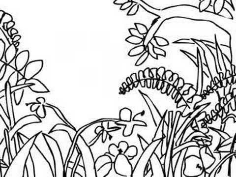 Drawn rainforest rousseau On using best demo Rousseau