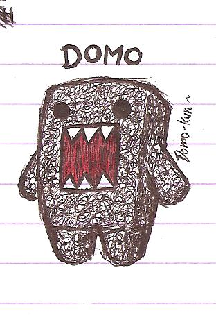 Drawn randome Random Domo by ZephyrXenonymous Domo