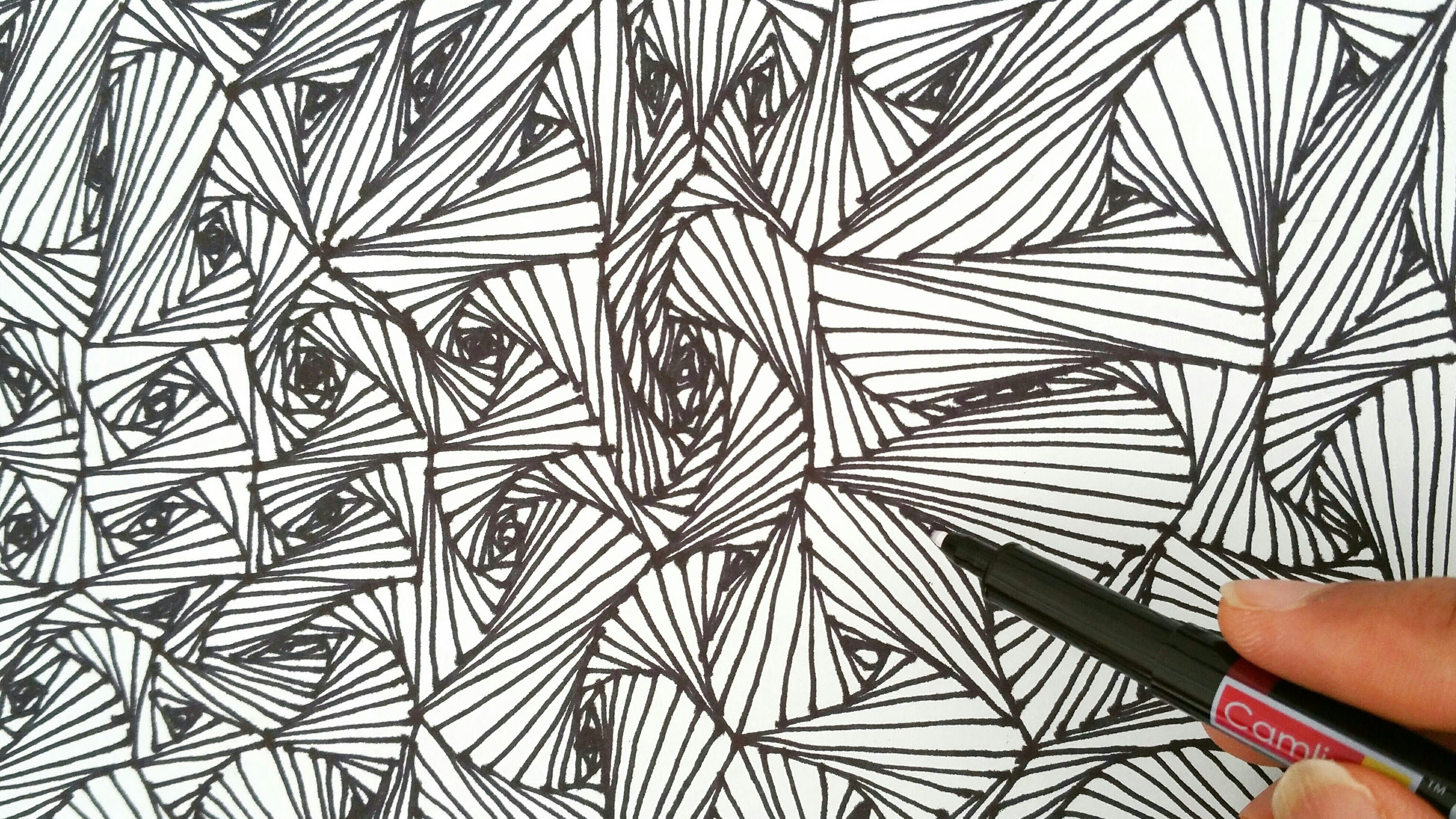 Drawn randome Patterns