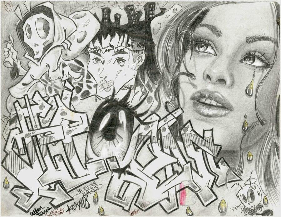 Drawn randome collage #14