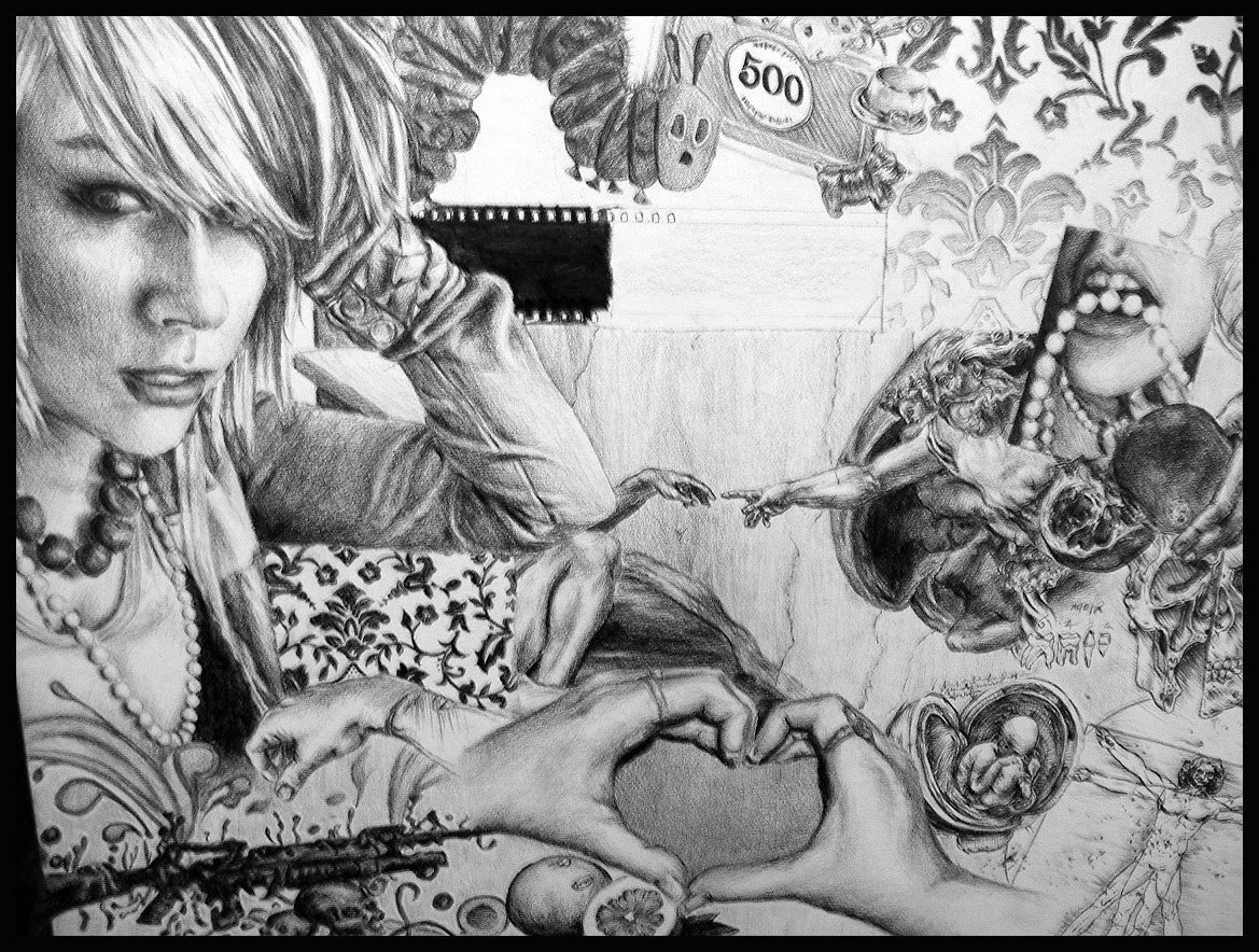 Drawn randome collage #11