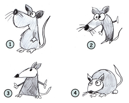 Drawn rat Draw rats rats Drawing cartoon