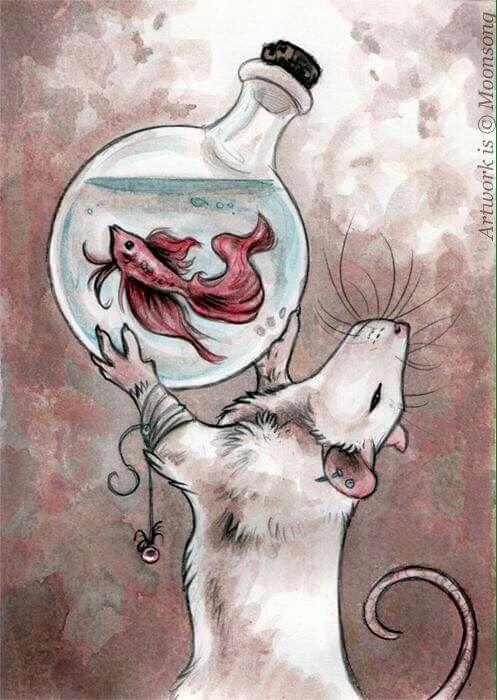 Drawn rat art Best  Rat The tattoos