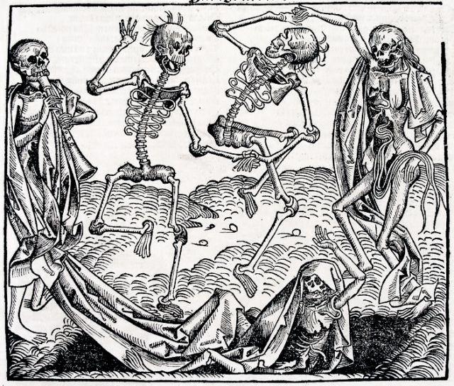 Drawn rat black death In history on devastating death