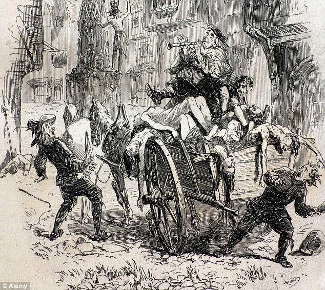 Drawn rat bubonic plague The million cut caused of