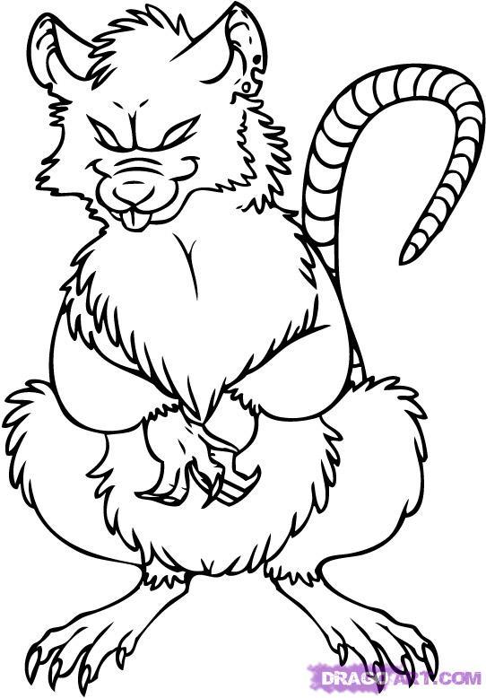 Drawn rat cartoon Cute%20rat%20drawing Drawing Free Images Cute